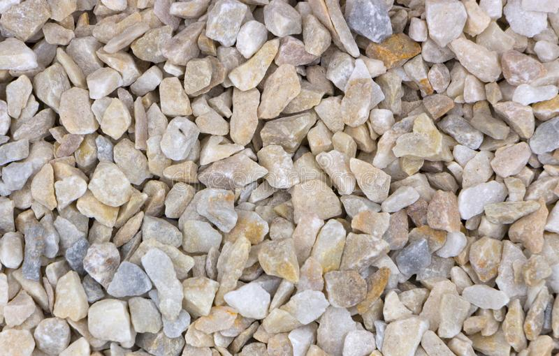 Texture, pattern, background. marble chips for landscaping pebbles close-up samples. Marble pebbles, a hard crystalline metamorphic form of limestone stock image