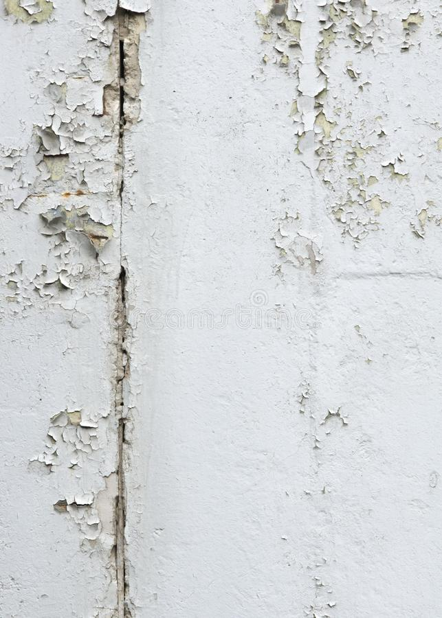 Texture, pattern, background. old paint. Concrete wall cracked p stock photography