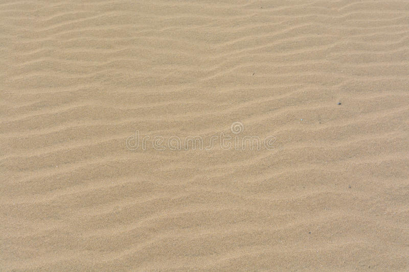Texture, pattern, background of sand in the dunes of Maspalomas, Grand Canary stock photo