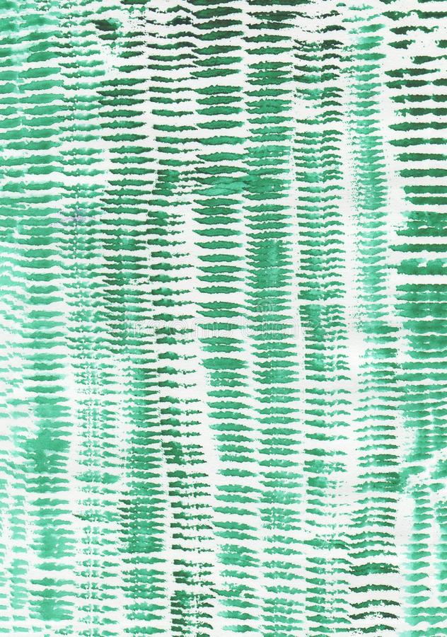 Texture, pattern, brush strokes of green colour the rows. Texture pattern brush strokes green color arranged in rows close to each other royalty free stock images