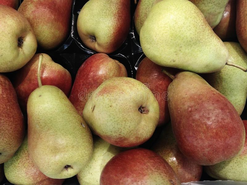 Texture of pears outdoor royalty free stock photo