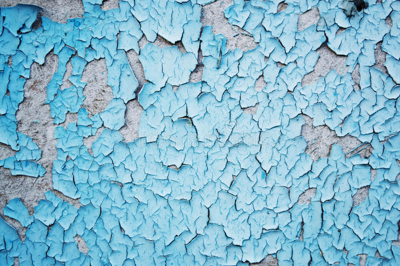the texture of the peeling paint on chipboard royalty free stock photos