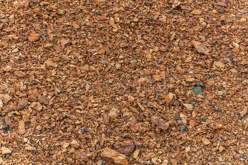 Texture pierre à macadam rouge image stock