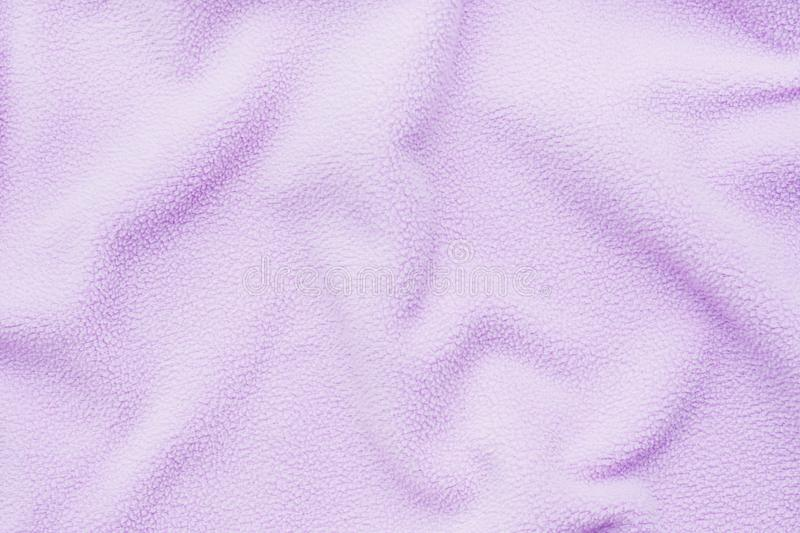 Texture of pink soft material. Background fabric details.  stock photos