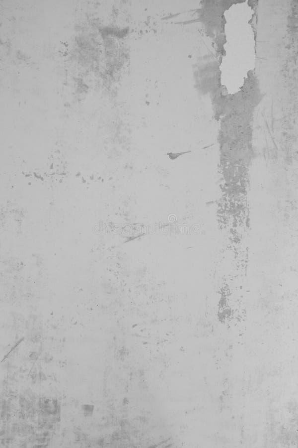 Texture plâtrée de mur avec des flocons de peinture et de remplisseur Surface poncée avec des imperfections photos stock