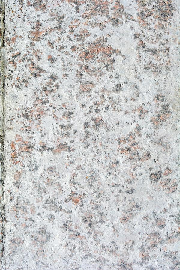 Texture of polished granite stone floor with white dense mud like chalk or lime stock images