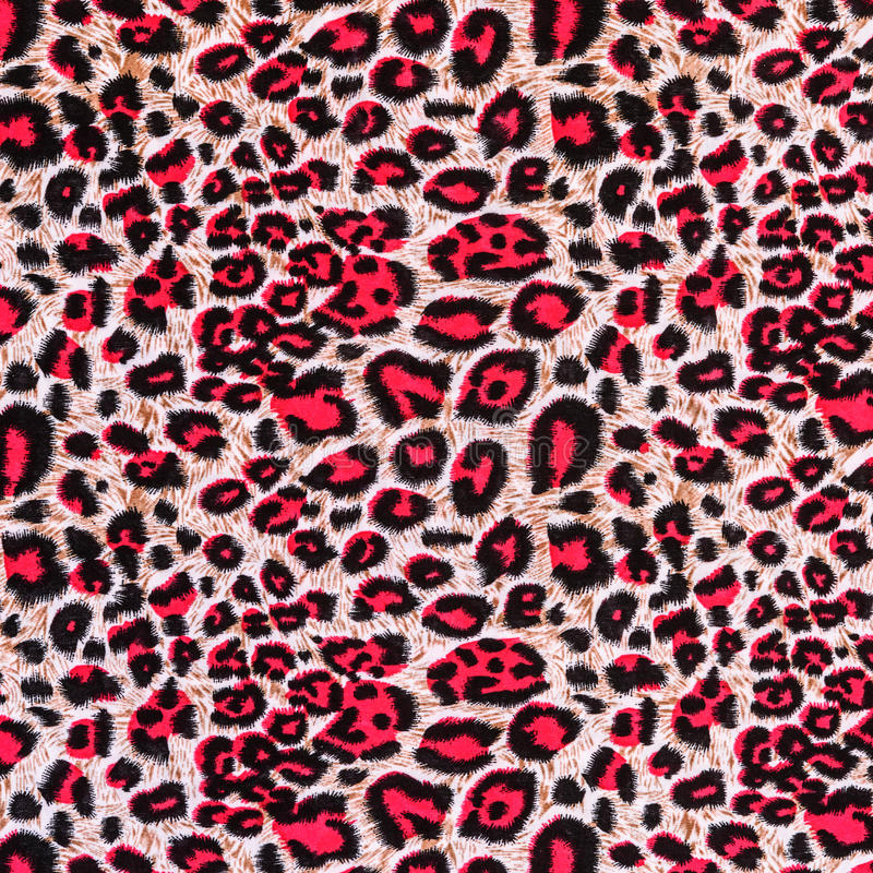 Texture of print fabric striped leopard. For background royalty free stock photos