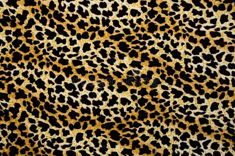 Texture of print fabric stripes leopard for background stock photos