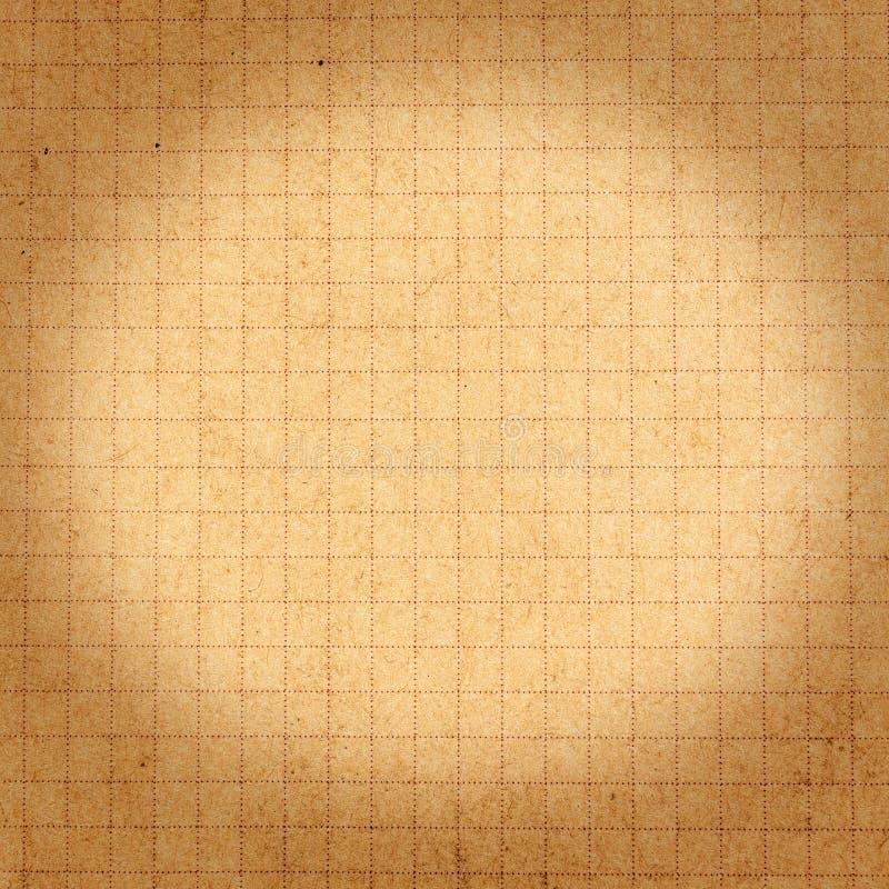 Texture réutilisée ou fond de papier brun avec la cellule et le bokeh. photos libres de droits
