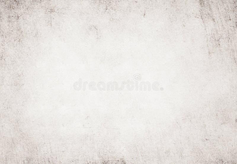 Texture réutilisée par blanc grunge léger de papier parcheminé photos stock