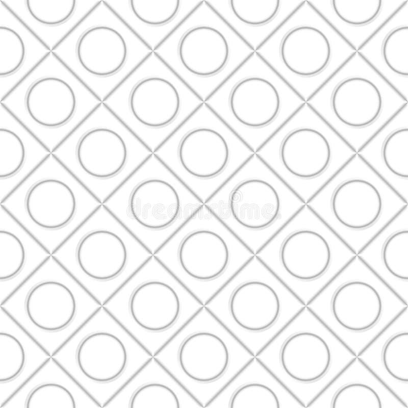 Texture r?aliste de volume, mod?le g?om?trique de places grises des cubes 3d illustration libre de droits
