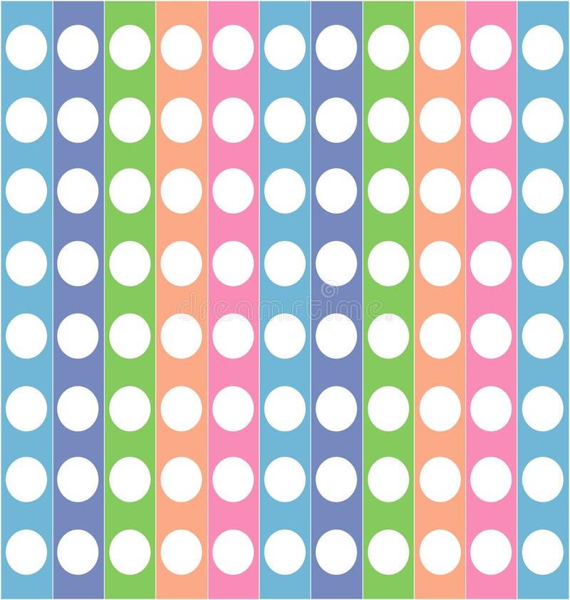 Texture rayée colorée illustration stock