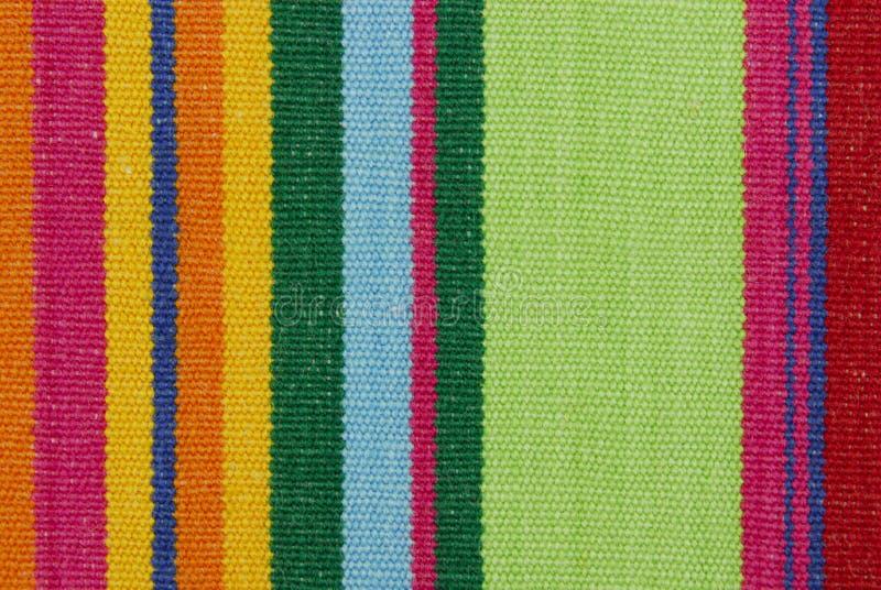 Texture rayée de tissu de couleur photos libres de droits