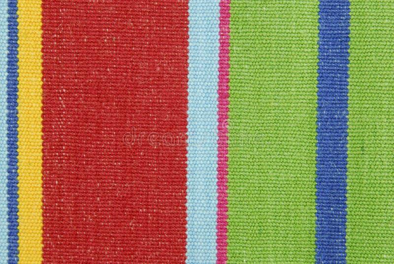 Texture rayée de tissu de couleur photographie stock