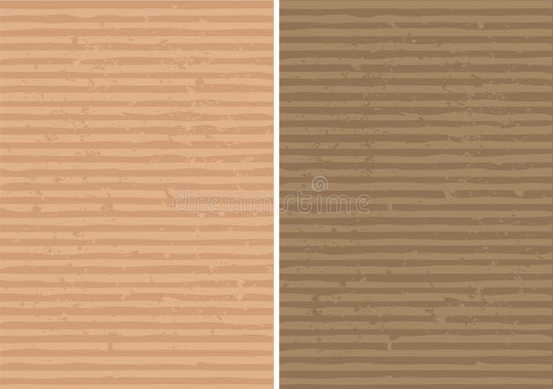 Texture rayée et ridée approximative illustration de vecteur