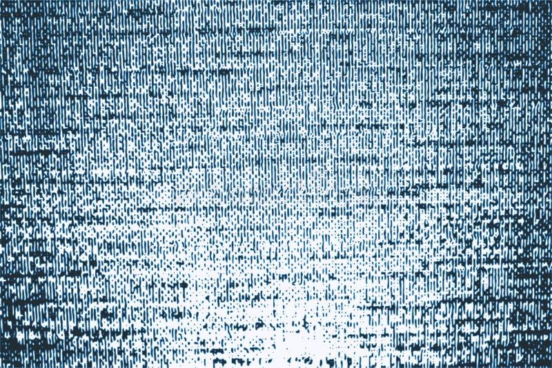 Texture rayée grenue de blues-jean de vecteur illustration de vecteur