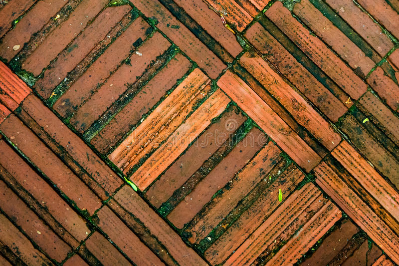 Download Texture Of Red Brick Floor Stock Photo Image