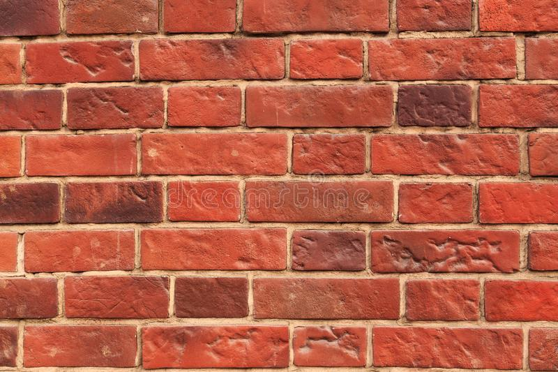 Texture red brick royalty free stock images
