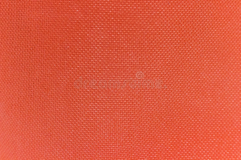 Texture of red nylon fabric stock image