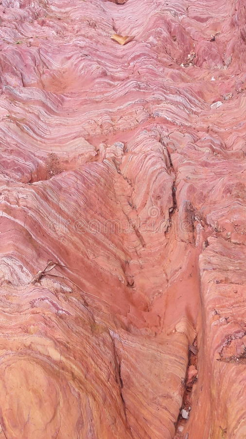 Texture red soil in Thailand stock photography
