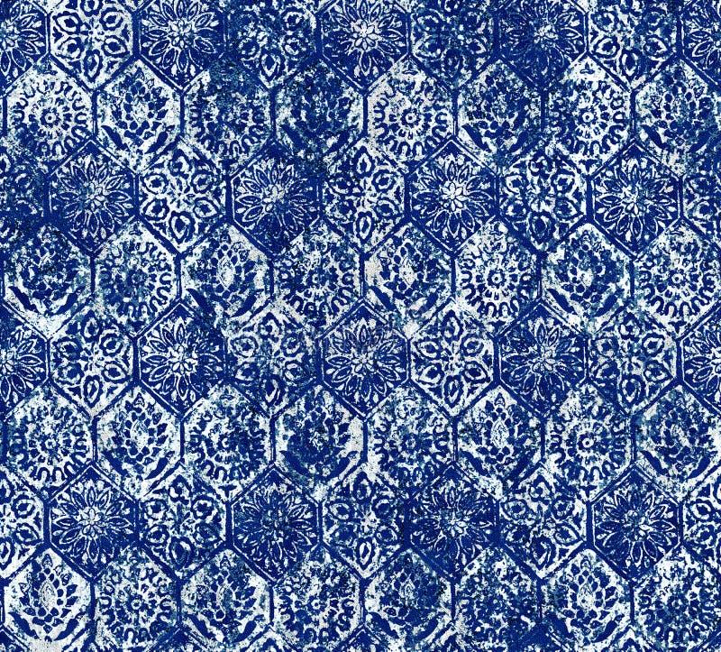 Batik texture repeat modern pattern design. Texture repeat modern pattern design royalty free illustration