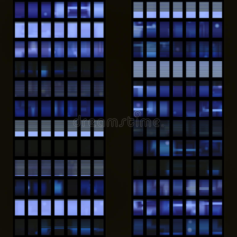 Texture resembling windows of a sk royalty free stock images