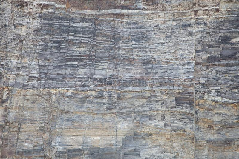 Slate Wall Texture from Taughannock Gorge stock photos