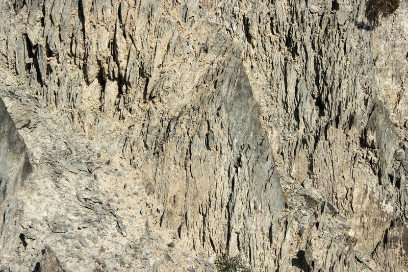The texture of the rocks. Rock, cliff, rock, stone, cobblestone, cause of failure or failure royalty free stock images