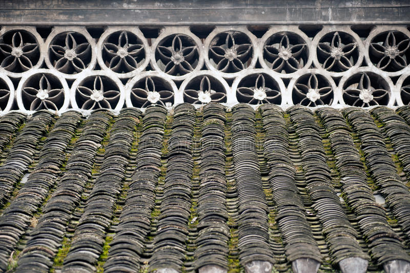 Texture of roof. stock images