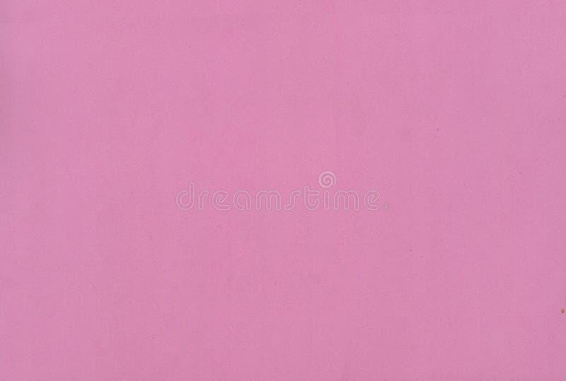 Texture rose de papier de mousse de couleur pour le fond ou la conception image stock