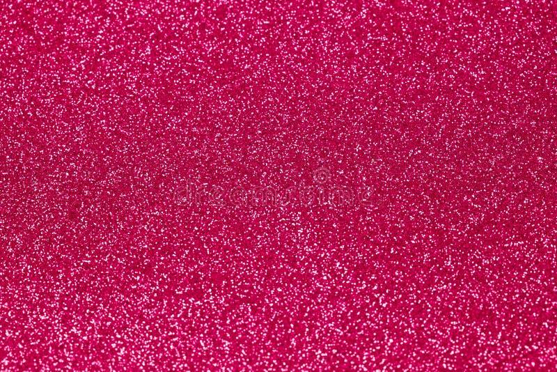 Texture rose de scintillement pour le fond photo stock