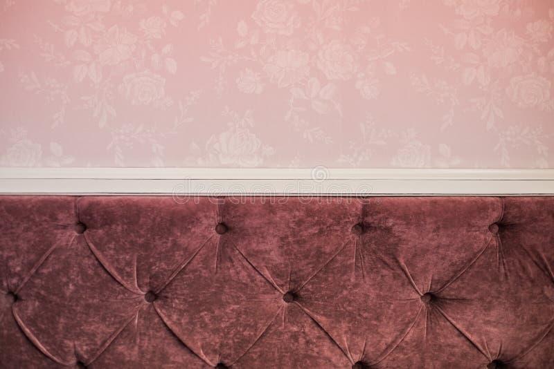 Download Texture Rose De Sofa De Couleur Et Modèle Sans Couture Image stock - Image du intérieur, floral: 76089415