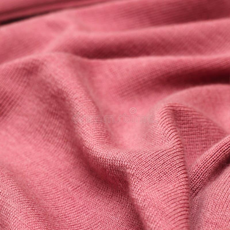 Texture rose de tricots images libres de droits