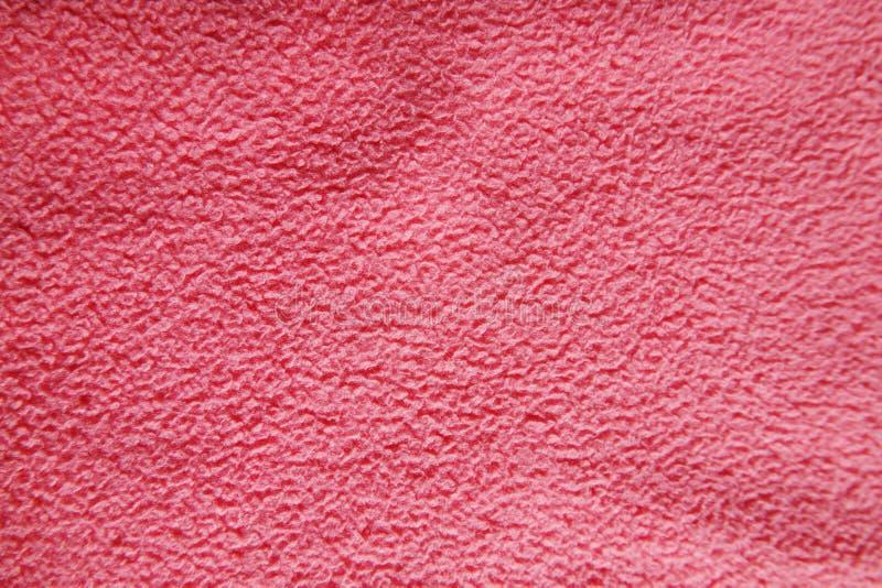 Texture rose en gros plan de fond de tissu photo libre de droits