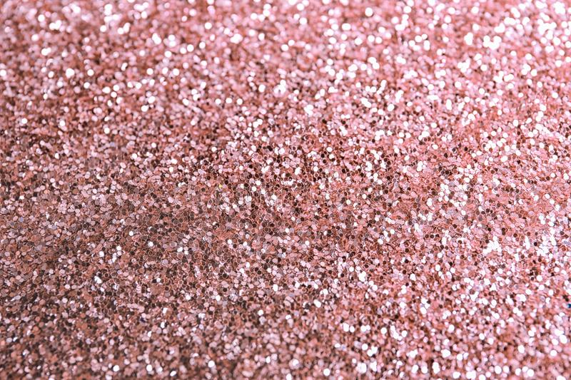 Texture of rose glitter fabric. As background royalty free stock image