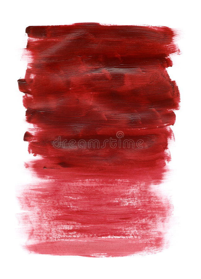 Texture rouge acrylique photos libres de droits