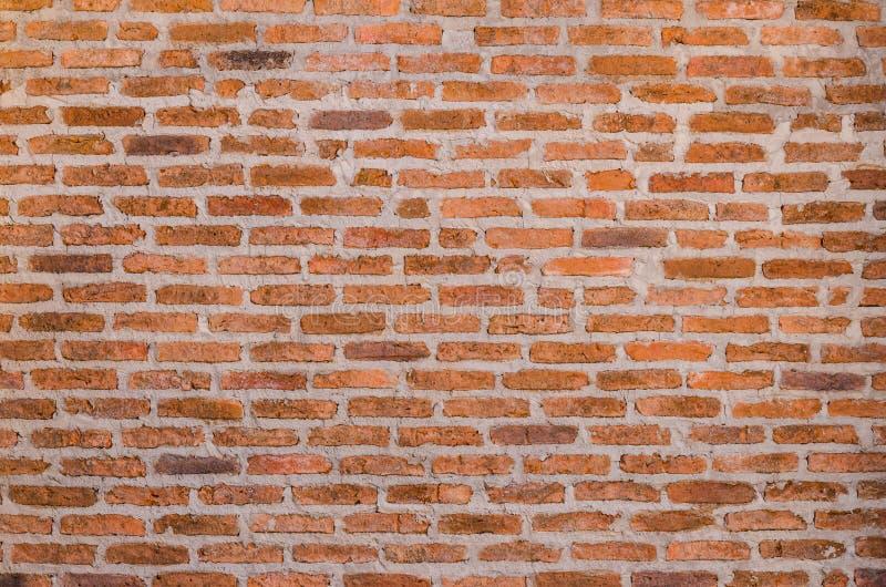 Texture rouge décorative de mur de briques photos stock
