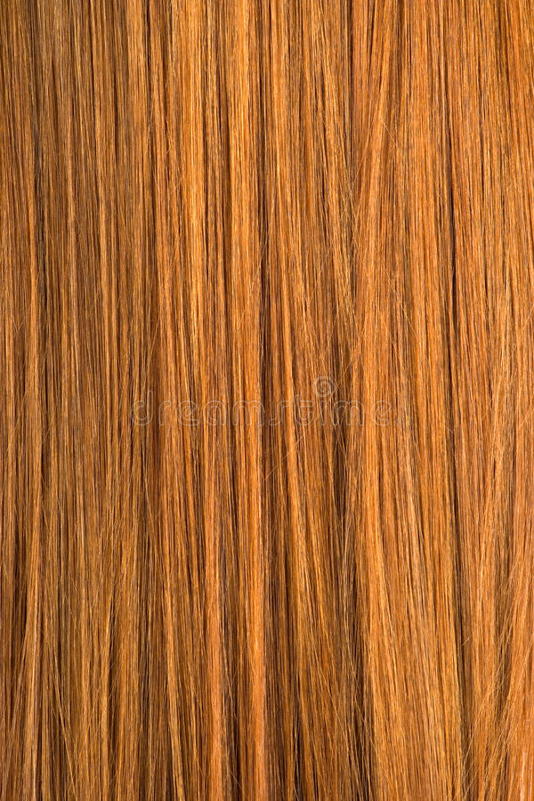 Texture rouge de cheveu photo libre de droits