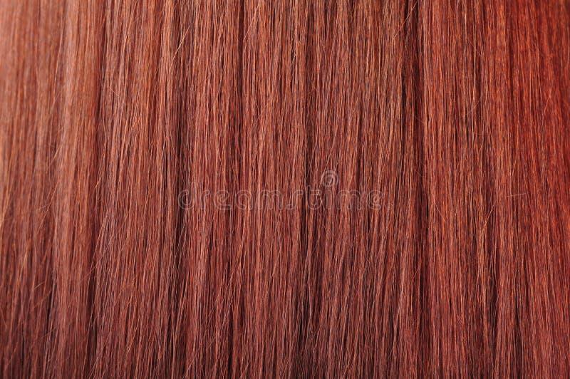 Texture rouge de cheveu images libres de droits