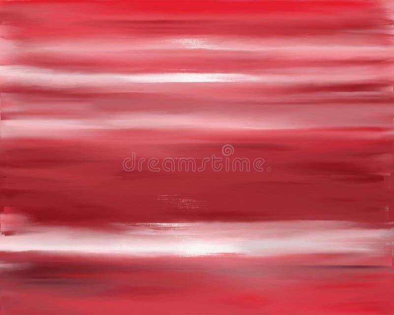 Download Texture Rouge De Peinture à L'huile Illustration Stock - Illustration du pétrole, bois: 64549