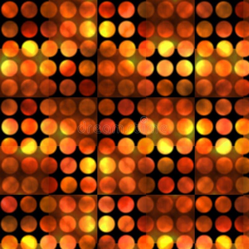 Texture rougeoyante de points illustration de vecteur