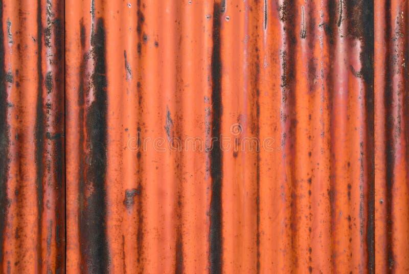 Texture rouillée en métal avec le cadre photographie stock libre de droits