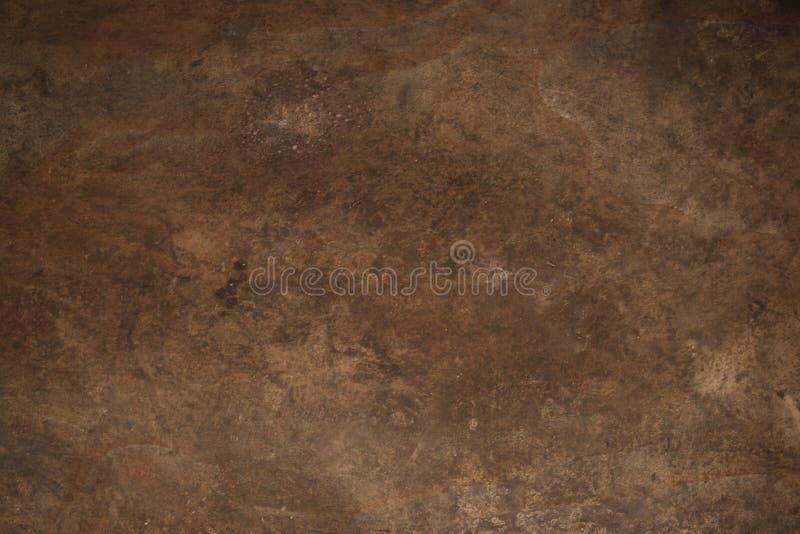 Texture rouillée en métal Fond rouillé en métal Rétro vintage grunge de la plaque de métal rouillée pour la conception avec l'esp image stock