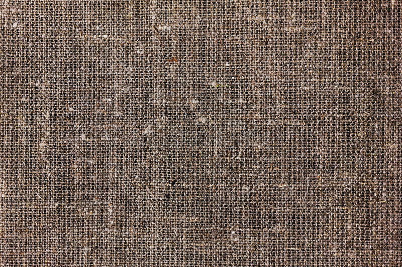 Texture of sacking or hessian or burlap material, gunny sack. Natural background royalty free stock photos