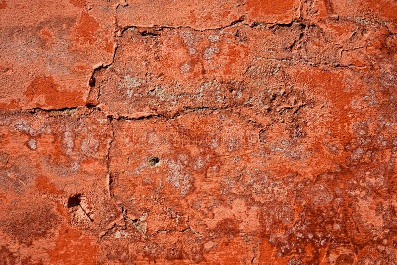 Texture sale de mur tirée avec des fissures image stock