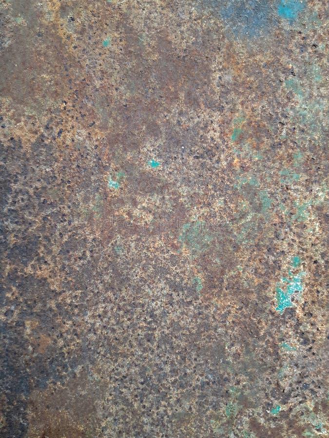 Texture sale du vieux métal minable photo stock