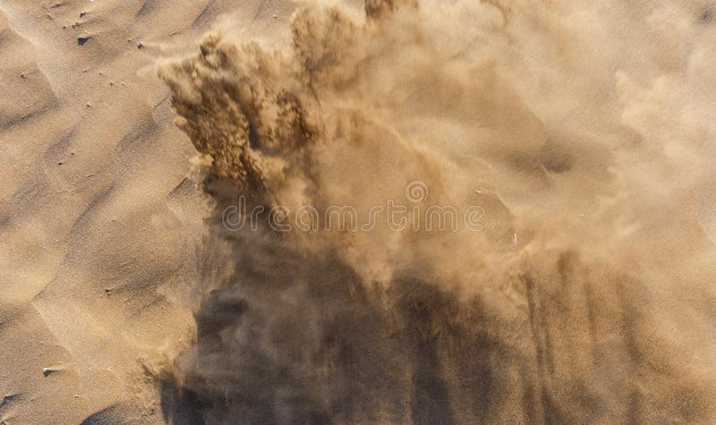 Texture of sand on the beach. Nature royalty free stock photos