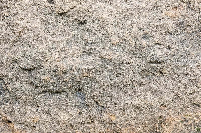 Texture Sandstone background Natural stone sandstone is characterized by large brown, solid, rough ground. royalty free stock photography