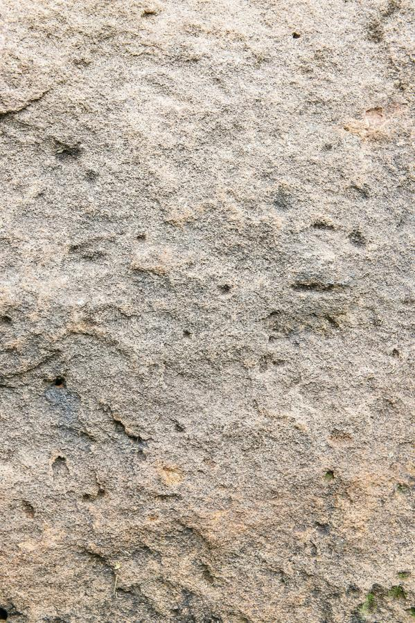 Texture Sandstone background Natural stone sandstone is characterized by large brown, solid, rough ground. royalty free stock image