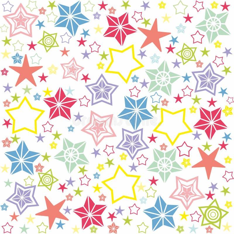 Texture sans couture avec des étoiles photos stock